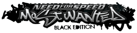 Логотип NFS Most Wanted 2005 Black Edition