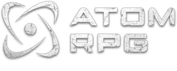 Логотип ATOM RPG: Post-apocalyptic indie game