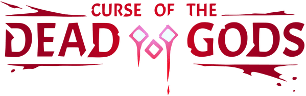 Логотип Curse of the Dead Gods
