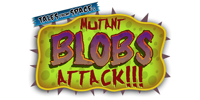 Логотип Tales From Space: Mutant Blobs Attack