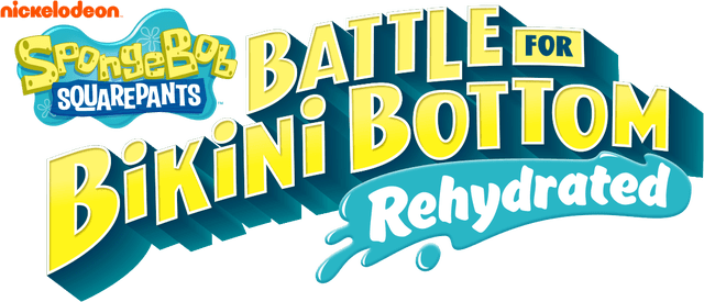 Логотип SpongeBob SquarePants: Battle for Bikini Bottom - Rehydrated