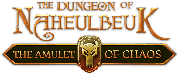 Логотип The Dungeon Of Naheulbeuk: The Amulet Of Chaos