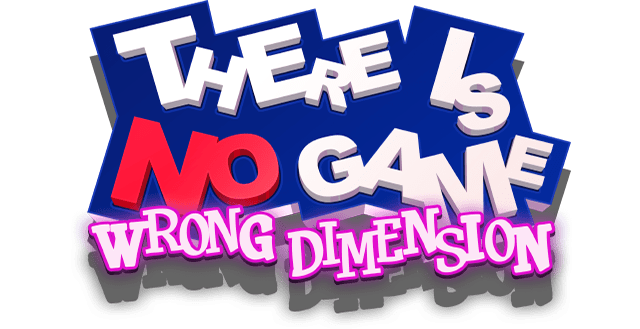 Логотип There Is No Game: Wrong Dimension