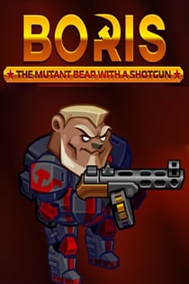 BORIS the Mutant Bear with a Gun