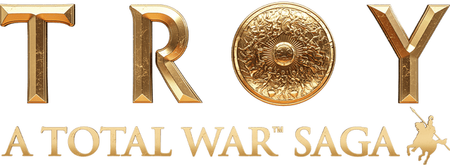 Логотип Total War Saga: TROY