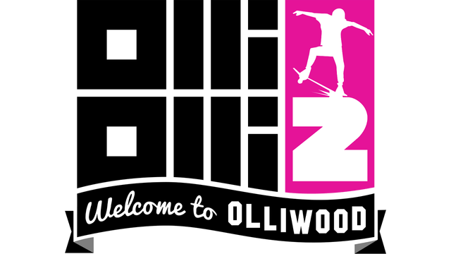 Логотип OlliOlli2: Welcome to Olliwood