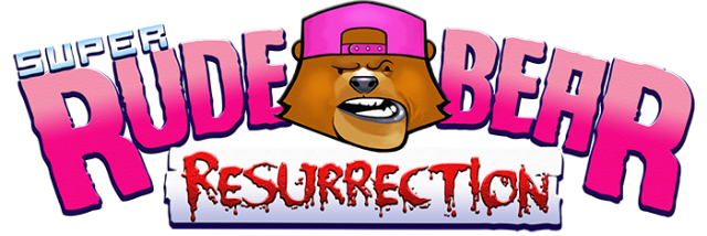 Логотип Super Rude Bear Resurrection