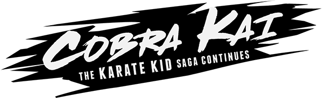 Логотип Cobra Kai: The Karate Kid Saga Continues