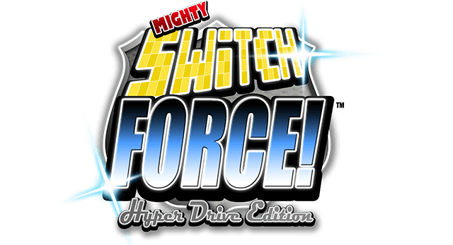 Логотип Mighty Switch Force! Hyper Drive Edition